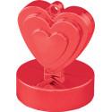 Ballongewicht Herzen rot