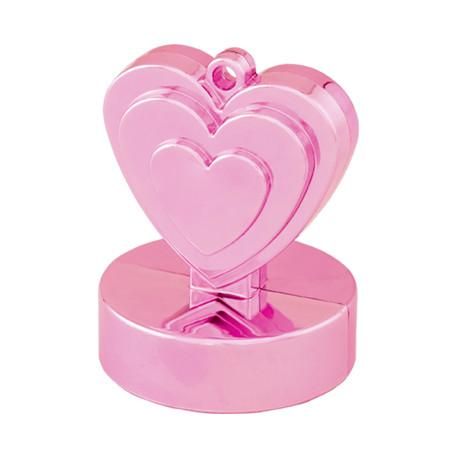 Ballongewicht Herzen pink