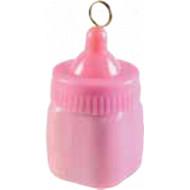 Ballongewicht Babyflasche rosa