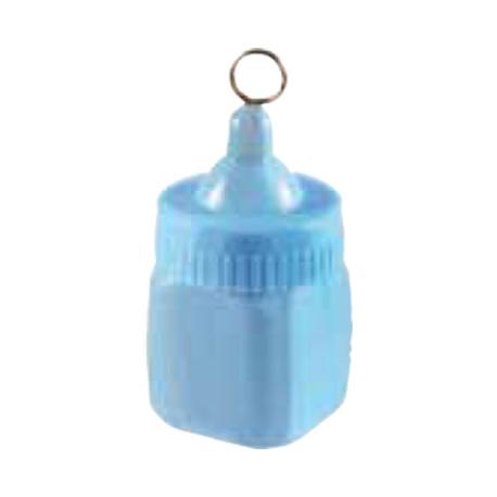 Ballongewicht Babyflasche blau