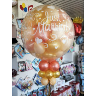 Explosionsballon - Hochzeit