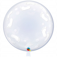 Deco -Bubbles XXL -  Babyfüße