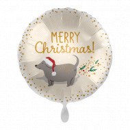 Frohe Weihnachten - Merry Chrsitmas Hund