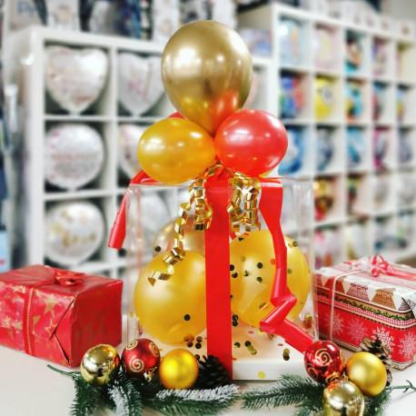 Ballon - Geschenkebox