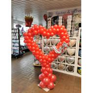 Ballonsäule Herz