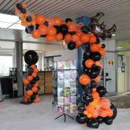 Organische Ballonsäule Halloween