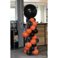 Ballonsäule Halloween