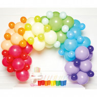 Ballongirlandenset Regenbogen (DIY)