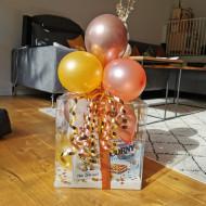 Ballon - Geschenkebox März