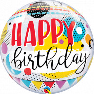 Bubbles - Happy Birthday Circles and Dot Patterns