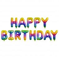 Schriftzug - Happy Birthday  LUFTFÜLLUNG