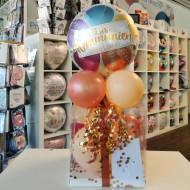 Ballon - Geschenkebox Kommunion