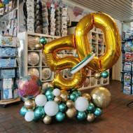 Ballon-Arrangement 50