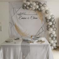 Ballongirlande Hochzeit
