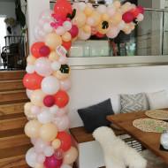 Organische Ballonsäule