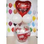 Geschenkballon  Hochzeit 1