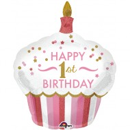 Torte 1. Geburtstag Girl