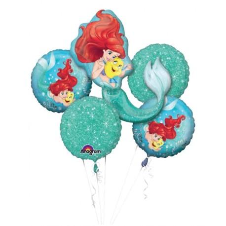 Arielle die Meerjungfrau Ballonstrauß