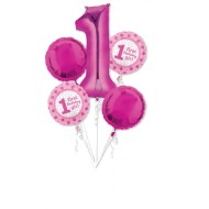 First birthday girl -Geburtstagsstrauß