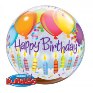 HAppy Birthday to you Candles - Bubbles