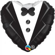Herzballon - Bräutigam