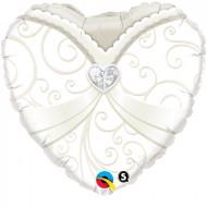 Herzballon - Braut