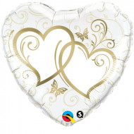 Entwined Hearts - Gold