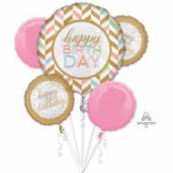 Folienstrauß - Happy Birthday