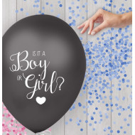 Boy or Girl Ballon (Blau) 40cm