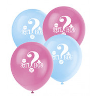 Boy or Girl Party Ballons