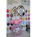 Geschenkballon Zahl