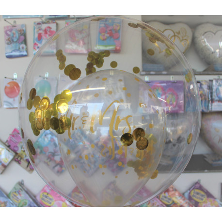 Geschenkballon Dekobubble