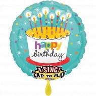 Singender Ballon - Happy Birthday to you