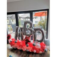 Ballonarrangement HDB